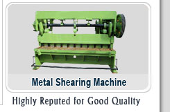 Metal Shearing Machines